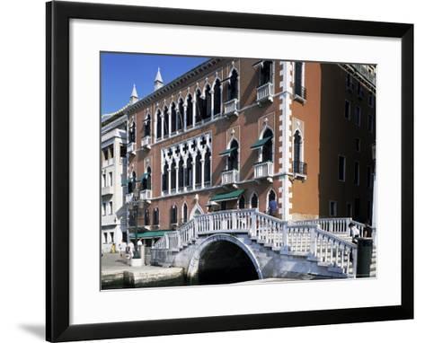 Danieli's Hotel, Venice, Veneto, Italy-G Richardson-Framed Art Print