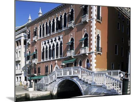 Danieli's Hotel, Venice, Veneto, Italy-G Richardson-Mounted Photographic Print