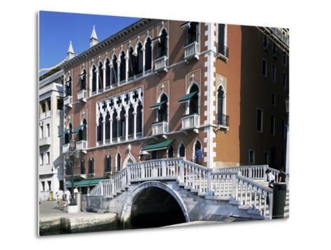 Danieli's Hotel, Venice, Veneto, Italy-G Richardson-Metal Print