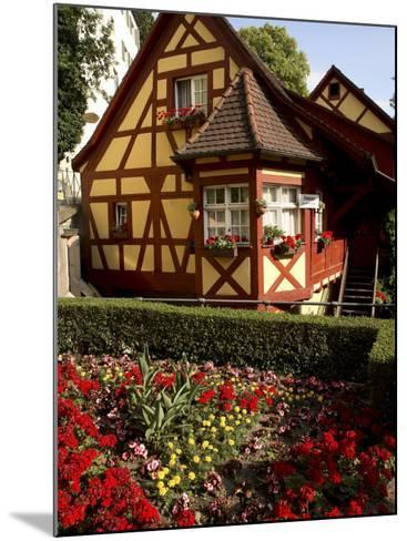 Meersburg Old Town, Bodensee, Baden-Wurttemberg, Germany-G Richardson-Mounted Photographic Print