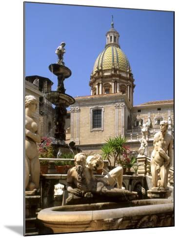 Piazza Pretoria, Palermo, Sicily, Italy-G Richardson-Mounted Photographic Print