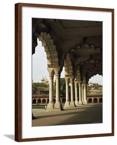 Inside the Red Fort, Agra, Unesco World Heritage Site, Uttar Pradesh, India--G Richardson-Framed Art Print