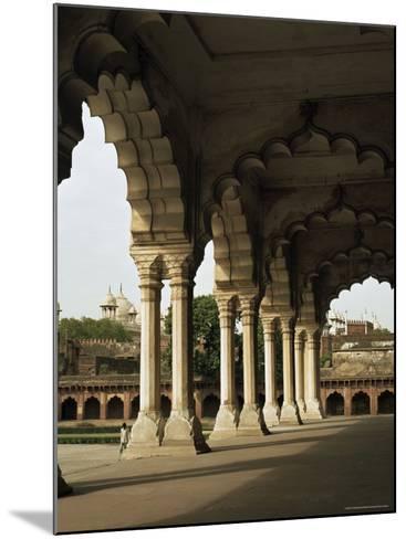 Inside the Red Fort, Agra, Unesco World Heritage Site, Uttar Pradesh, India--G Richardson-Mounted Photographic Print