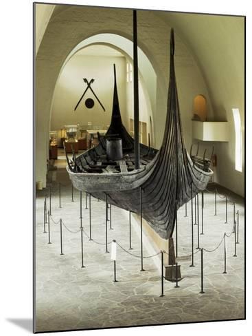 Replica of a Viking Ship, Oseberg, Oslo, Norway, Scandinavia-G Richardson-Mounted Photographic Print