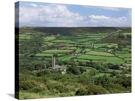 Widecombe-In-The-Moor, Dartmoor, Devon, England, United Kingdom-Lee Frost-Stretched Canvas Print