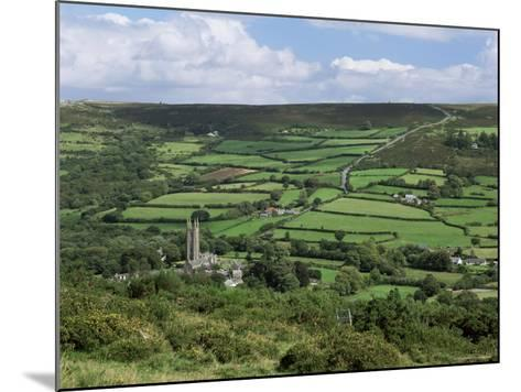Widecombe-In-The-Moor, Dartmoor, Devon, England, United Kingdom-Lee Frost-Mounted Photographic Print