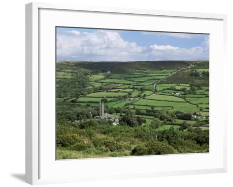 Widecombe-In-The-Moor, Dartmoor, Devon, England, United Kingdom-Lee Frost-Framed Art Print