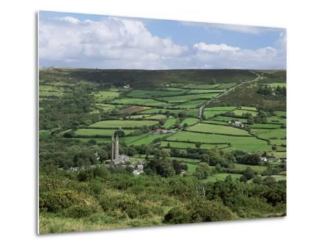 Widecombe-In-The-Moor, Dartmoor, Devon, England, United Kingdom-Lee Frost-Metal Print