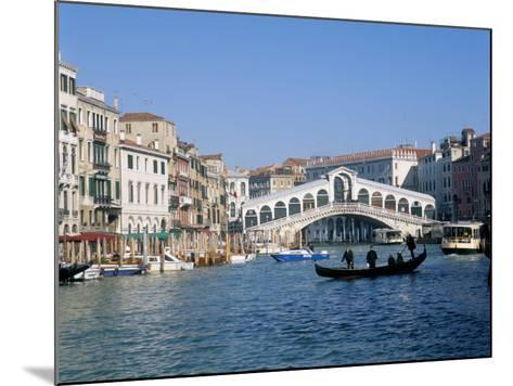 Rialto Bridge, Venice, Unesco World Heritage Site, Veneto, Italy-Lee Frost-Mounted Photographic Print
