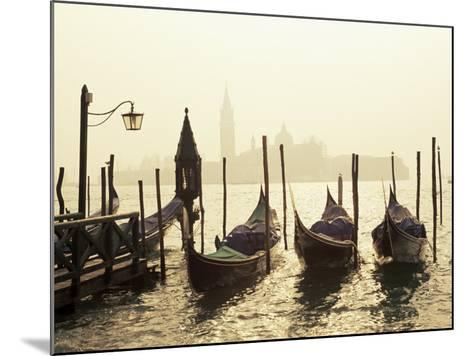 View Across Lagoon Towards San Giorgio Maggiore, from St. Mark's, Venice, Veneto, Italy-Lee Frost-Mounted Photographic Print