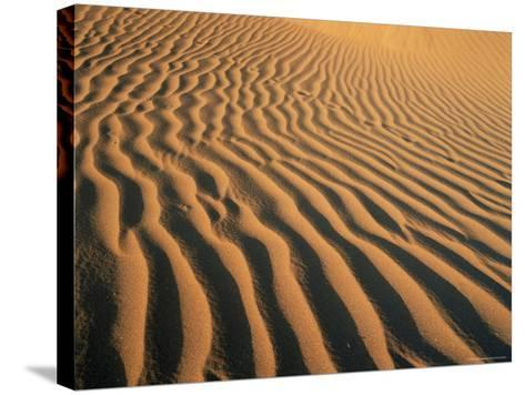 Ripples in the Sand, Sesriem, Namib Naukluft Park, Namibia, Africa-Lee Frost-Stretched Canvas Print