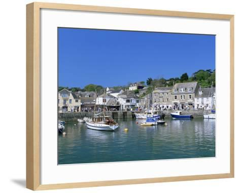 Padstow Harbour, Cornwall, England, United Kingdom-Lee Frost-Framed Art Print