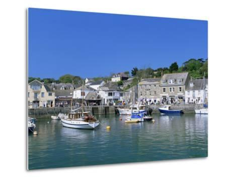 Padstow Harbour, Cornwall, England, United Kingdom-Lee Frost-Metal Print