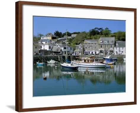 Padstow Harbour, Padstow, Cornwall, England, United Kingdom-Lee Frost-Framed Art Print