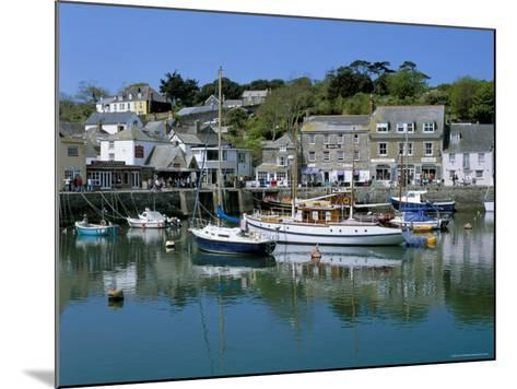 Padstow Harbour, Padstow, Cornwall, England, United Kingdom-Lee Frost-Mounted Photographic Print