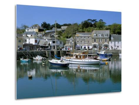 Padstow Harbour, Padstow, Cornwall, England, United Kingdom-Lee Frost-Metal Print