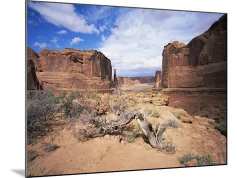 Park Avenue, Arches National Park, Moab, Utah, USA-Lee Frost-Mounted Photographic Print