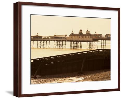Eastbourne Pier, Eastbourne, East Sussex, Sussex, England, United Kingdom-Lee Frost-Framed Art Print