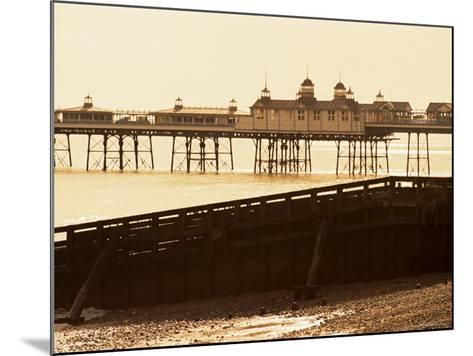 Eastbourne Pier, Eastbourne, East Sussex, Sussex, England, United Kingdom-Lee Frost-Mounted Photographic Print