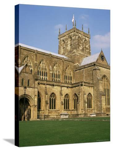 Sherborne Abbey, Dorset, England, United Kingdom-Michael Jenner-Stretched Canvas Print