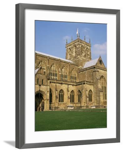 Sherborne Abbey, Dorset, England, United Kingdom-Michael Jenner-Framed Art Print