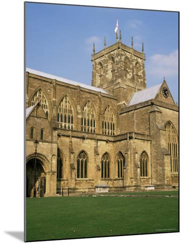 Sherborne Abbey, Dorset, England, United Kingdom-Michael Jenner-Mounted Photographic Print