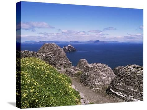 Early Christian Settlement, Skellig Michael, Unesco World Heritage Site, Munster-Michael Jenner-Stretched Canvas Print