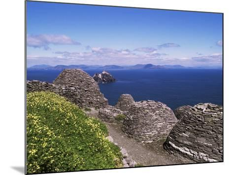 Early Christian Settlement, Skellig Michael, Unesco World Heritage Site, Munster-Michael Jenner-Mounted Photographic Print