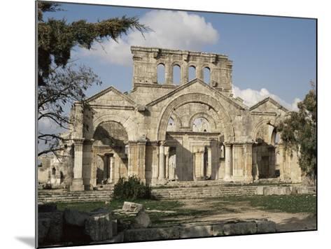 Basilica of St. Simeon, Qalaat Samaan, Syria, Middle East-David Poole-Mounted Photographic Print