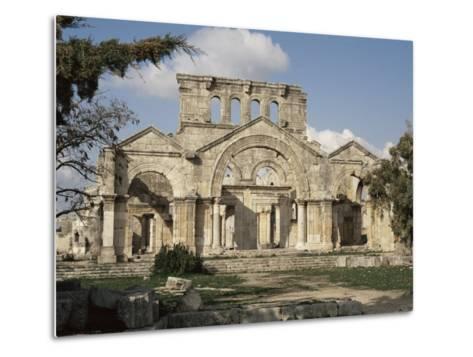 Basilica of St. Simeon, Qalaat Samaan, Syria, Middle East-David Poole-Metal Print
