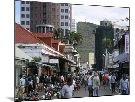 Street Scene, Farquhar Street, Port Louis, Mauritius, Indian Ocean, Africa-David Poole-Mounted Photographic Print