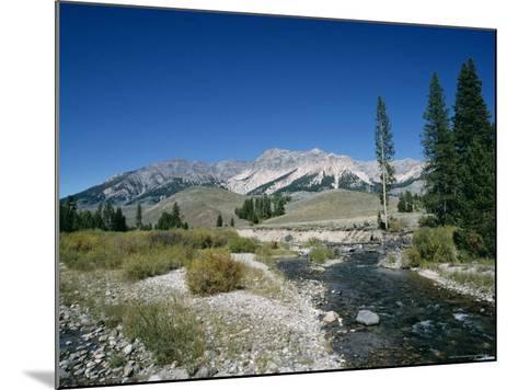 Wood River and Sawtooths, Sawtooth National Recreation Area, Idaho, USA-Julian Pottage-Mounted Photographic Print