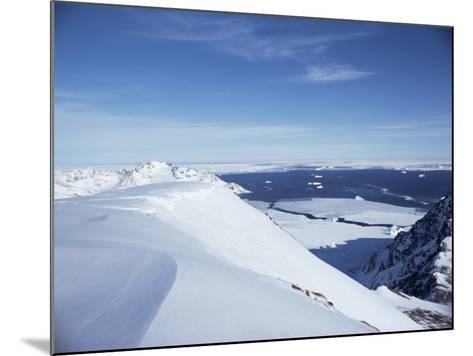 Greenland, Polar Regions-Jack Jackson-Mounted Photographic Print