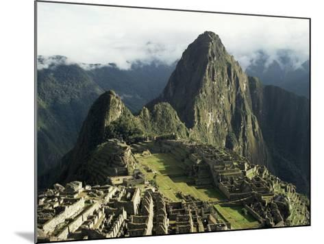 Lost City of the Incas at Dawn, Machu Picchu, Unesco World Heritage Site, Peru, South America-Christopher Rennie-Mounted Photographic Print