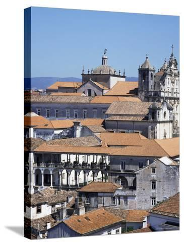 New Cathedral from the University Catwalk, Coimbra, Beira Litoral, Portugal-Christopher Rennie-Stretched Canvas Print