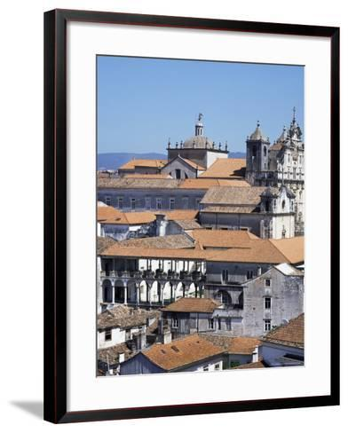New Cathedral from the University Catwalk, Coimbra, Beira Litoral, Portugal-Christopher Rennie-Framed Art Print