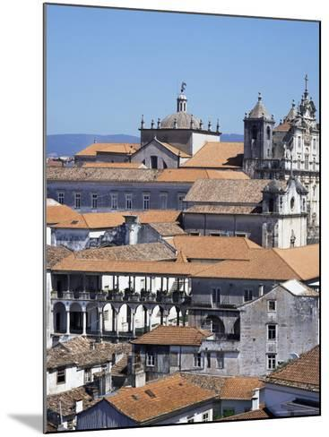 New Cathedral from the University Catwalk, Coimbra, Beira Litoral, Portugal-Christopher Rennie-Mounted Photographic Print