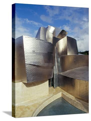 Guggenheim Museum, Designed by American Architect Frank O. Gehry, Opened 1997, Bilbao-Christopher Rennie-Stretched Canvas Print