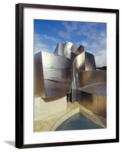 Guggenheim Museum, Designed by American Architect Frank O. Gehry, Opened 1997, Bilbao-Christopher Rennie-Framed Art Print