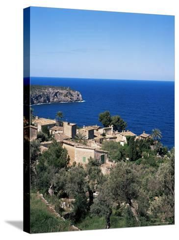 Deia, Majorca, Balearic Islands, Spain, Mediterranean-Hans Peter Merten-Stretched Canvas Print