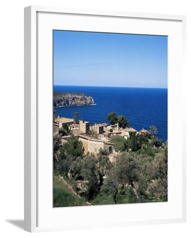 Deia, Majorca, Balearic Islands, Spain, Mediterranean-Hans Peter Merten-Framed Art Print
