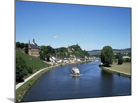 Old Town and River Saar, Saarburg, Rheinland-Pfalz (Rhineland Palatinate), Germany-Hans Peter Merten-Mounted Photographic Print