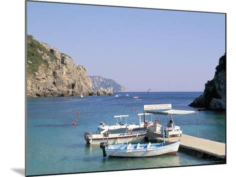 Paleokastritsa, Corfu, Greek Islands, Greece, Mediterranean-Hans Peter Merten-Mounted Photographic Print
