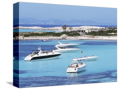 Platja Illetas, Formentera, Balearic Islands, Spain, Mediterranean-Hans Peter Merten-Stretched Canvas Print