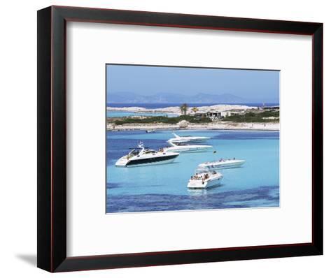 Platja Illetas, Formentera, Balearic Islands, Spain, Mediterranean-Hans Peter Merten-Framed Art Print