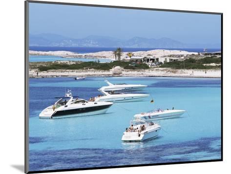 Platja Illetas, Formentera, Balearic Islands, Spain, Mediterranean-Hans Peter Merten-Mounted Photographic Print