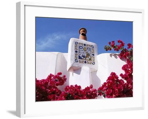 Pottery Near Sant Jordi, Ibiza, Balearic Islands, Spain-Hans Peter Merten-Framed Art Print