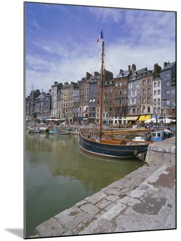 Harbour, Honfleur, Basse Normandie (Normandy), France-Hans Peter Merten-Mounted Photographic Print