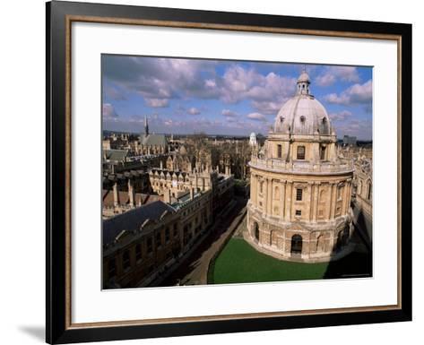 The Radcliffe Camera, Oxford, Oxfordshire, England, United Kingdom-Duncan Maxwell-Framed Art Print