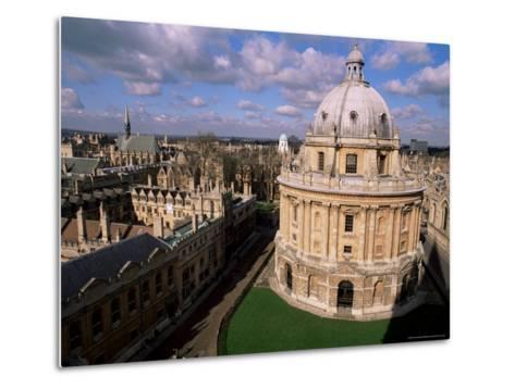 The Radcliffe Camera, Oxford, Oxfordshire, England, United Kingdom-Duncan Maxwell-Metal Print